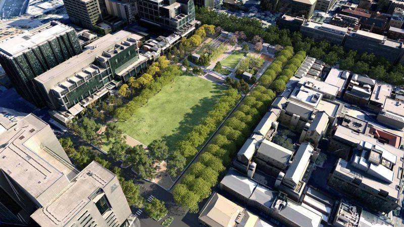Overall concept – University Square