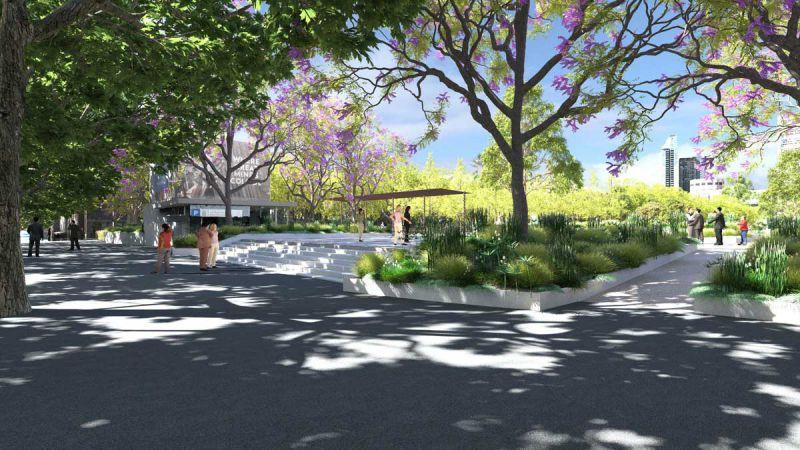 University Square – Grattan Street entrance
