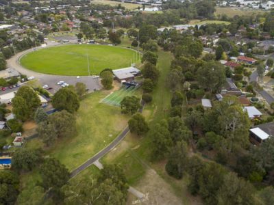 Aerial image of FairPark Reserve Blind Creek