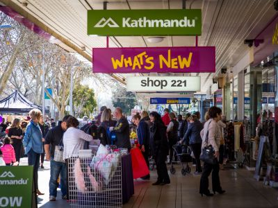 Share your photos of the Maude Street Mall