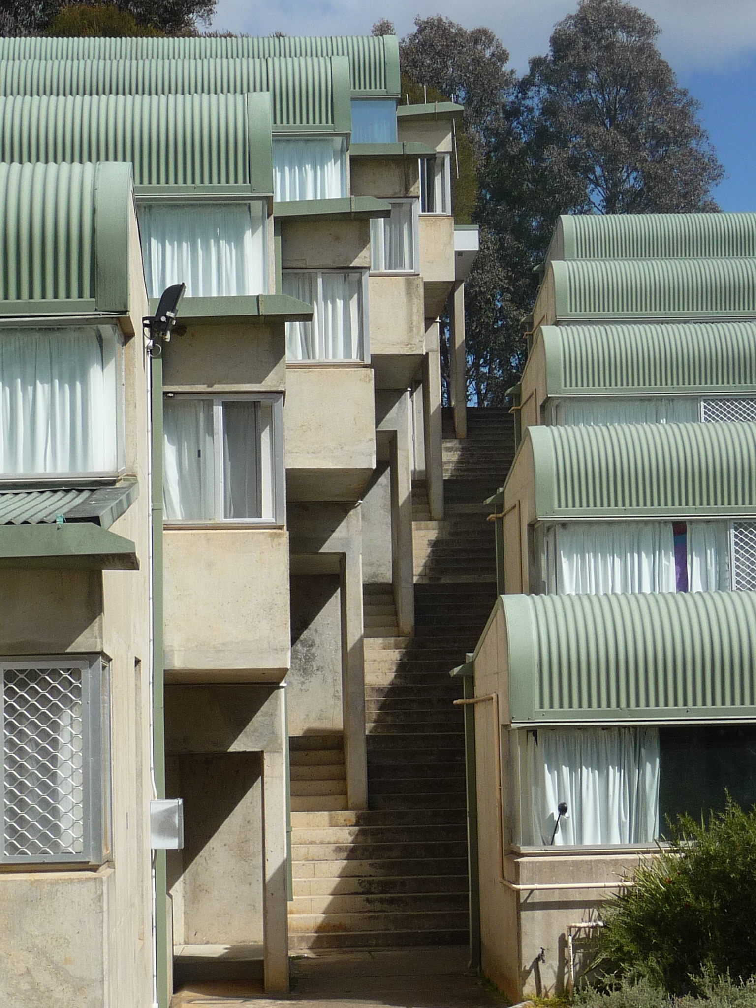 University of Canberra residents' building