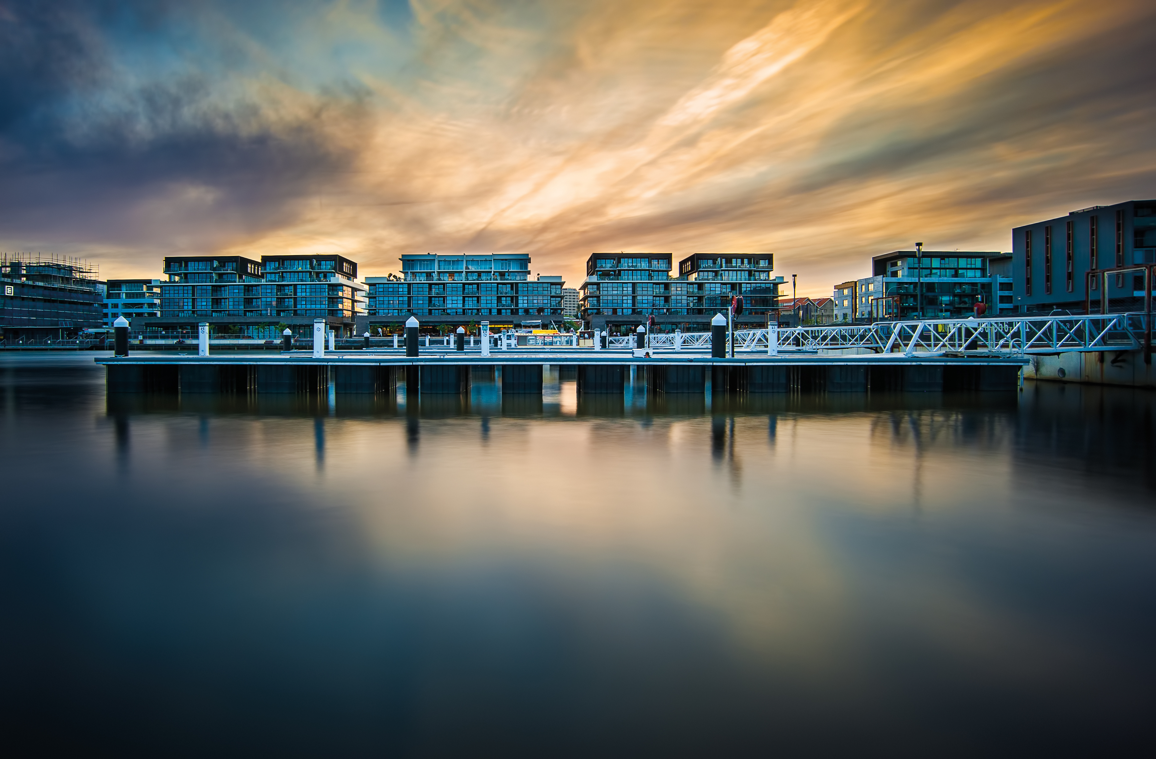Kingston Foreshore Sunset image