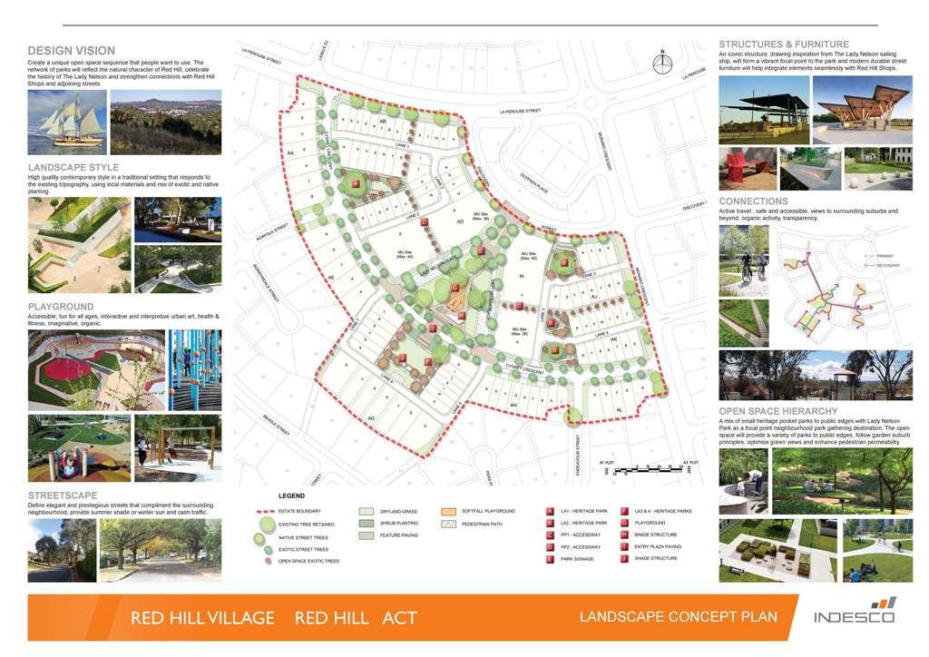 Click Here To Download A Pdf Copy Of The Landscape Design For Red Hill Redevelopment Area