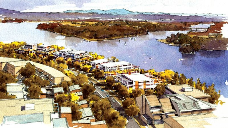 Belconnen Master Plan - Emu Bank