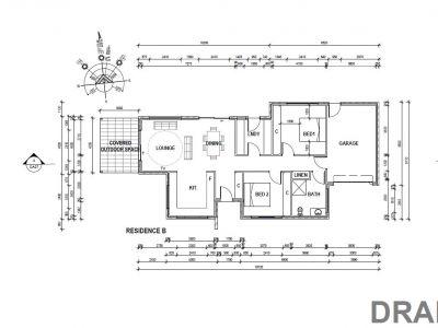 Residence B floor plan