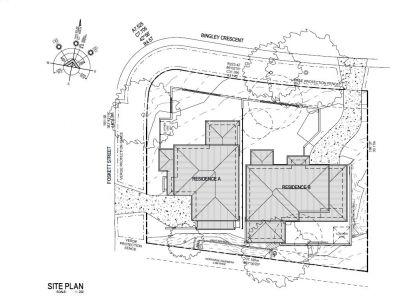 Fraser site plan