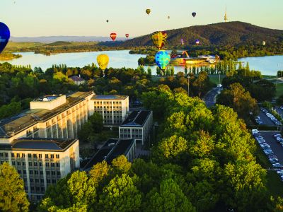 Image of Canberra city scape