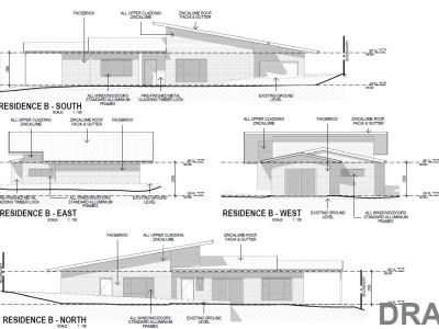 Residence B elevations