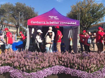Transport Canberra Information Tent