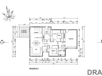 Residence A floor plan