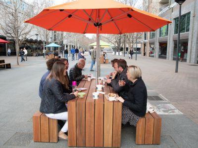 Pic & Mix tables at City Walk