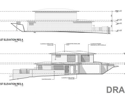 Residence A elevations