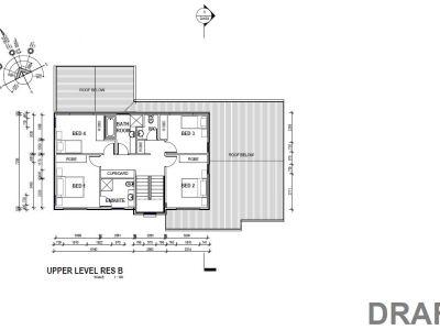 Residence B upper floor