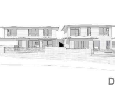 95 Bingley Cresent Fraser front-on site plans
