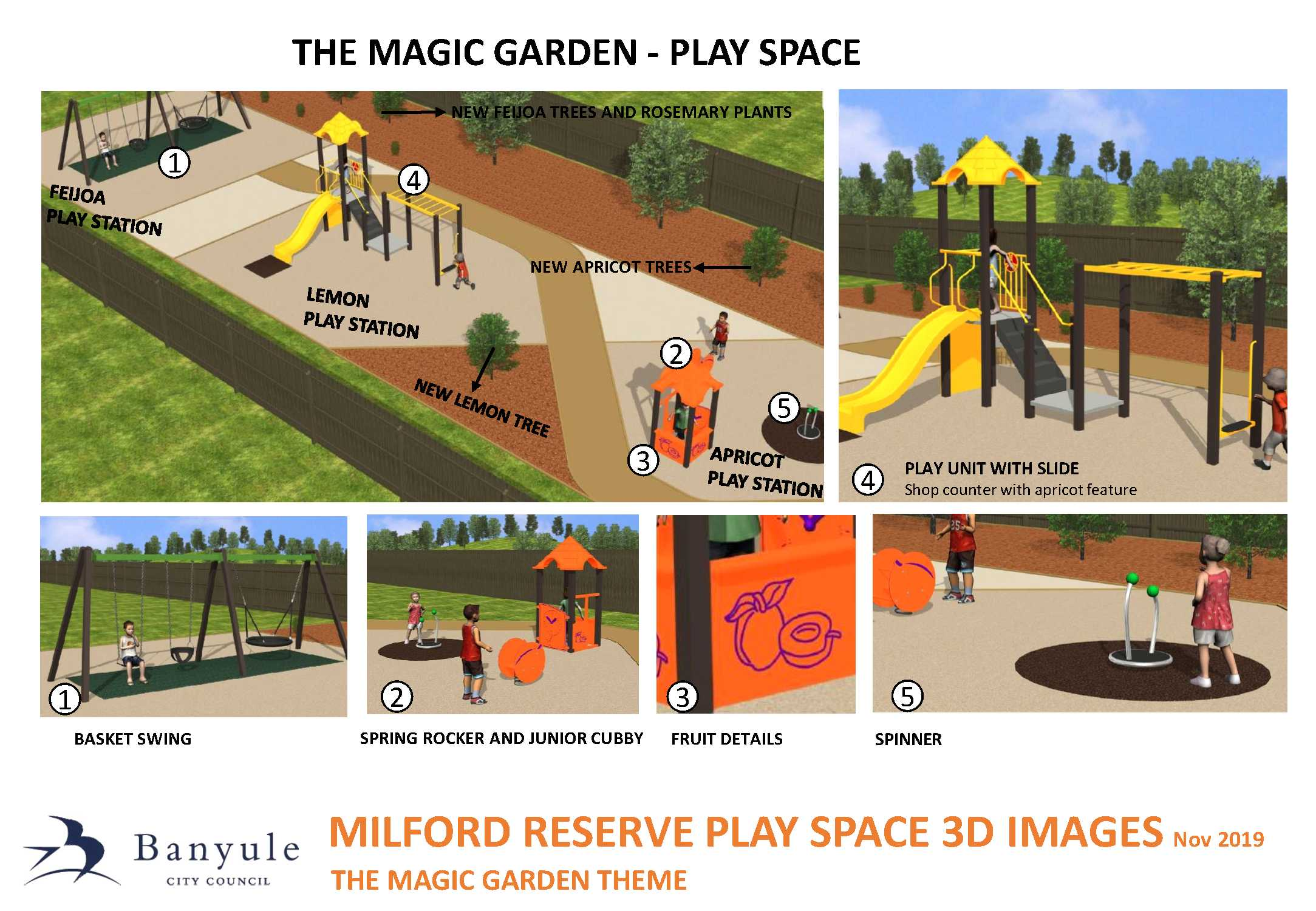 Milfred Reserve Playground Concept 3D images