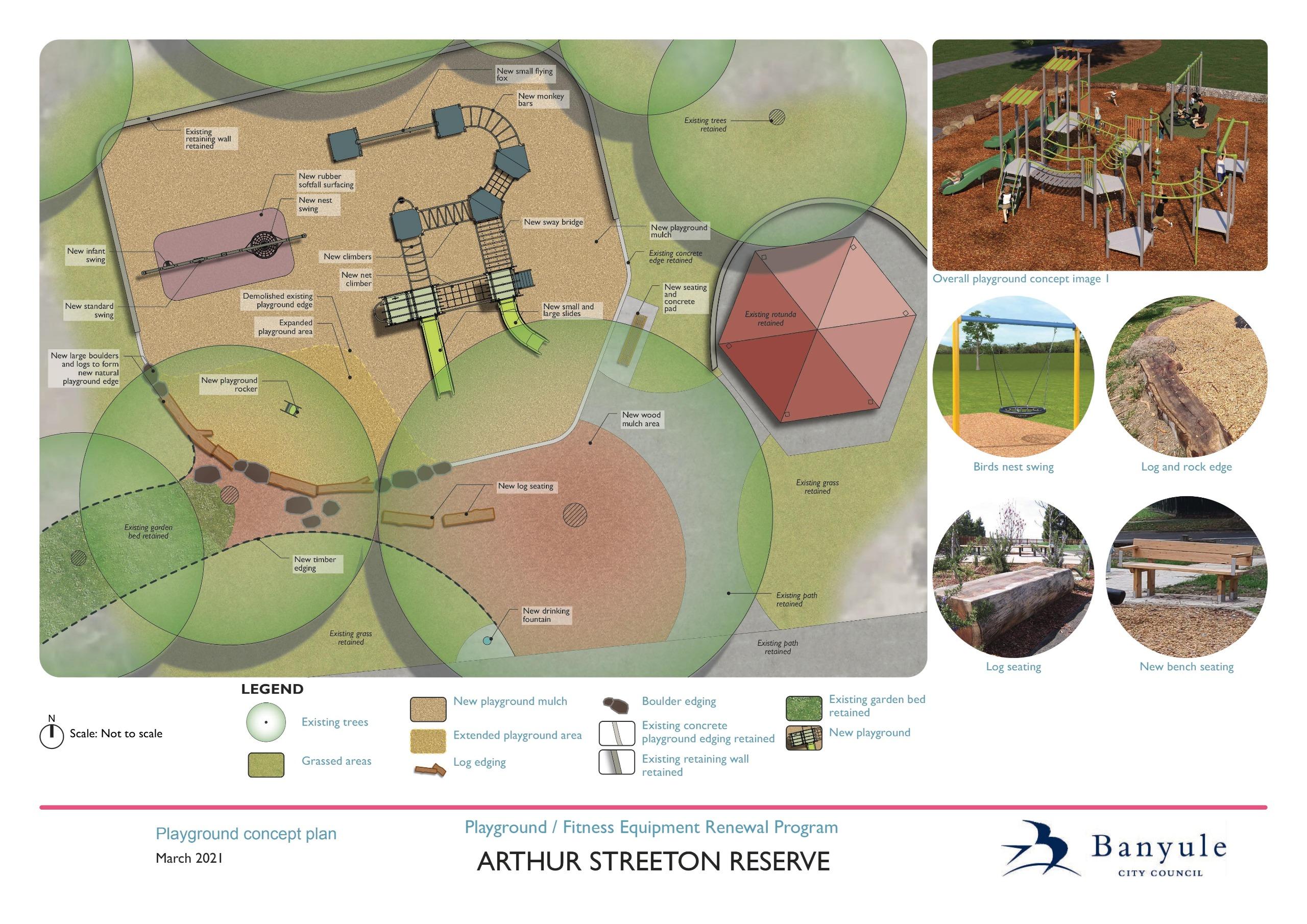Arthur Street Reserve Concept Plan