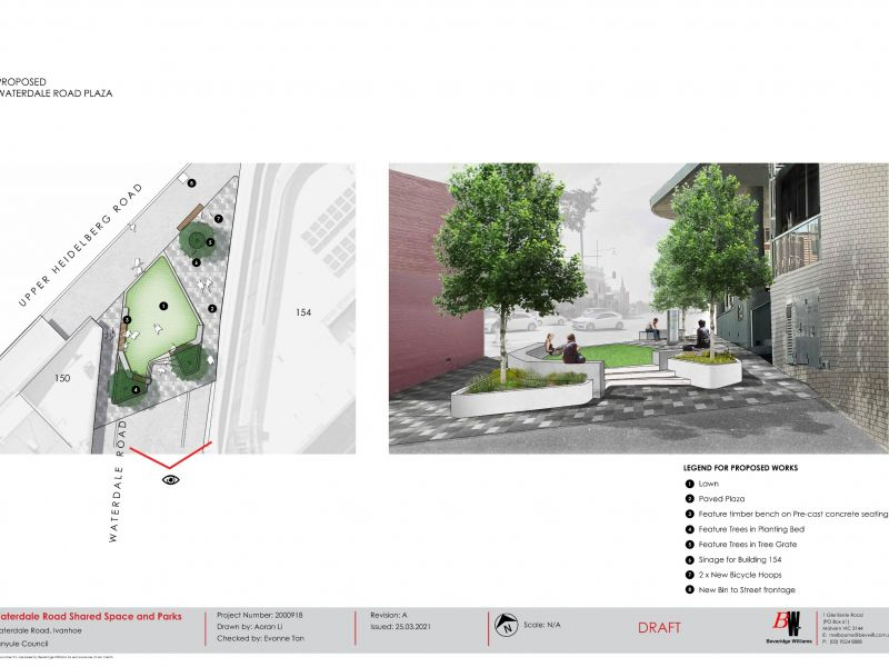 Proposed Waterdale Road Plaza render
