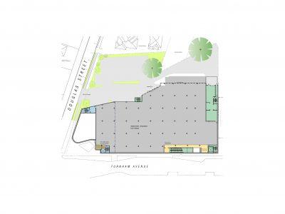 Rosanna Library - Undercroft Basement Parking Context Plan