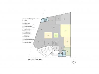 Rosanna Library - Ground floor plan