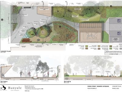 Were Street Reserve Concept Design