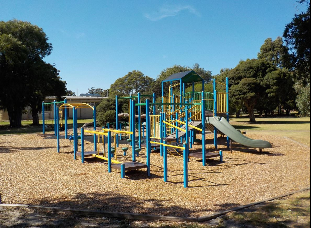 Current playground at FG Tricks Reserve