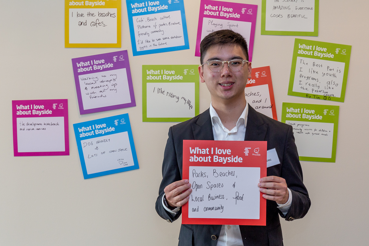young person big ideas card