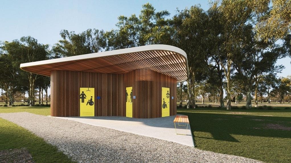 Accessible public toilet