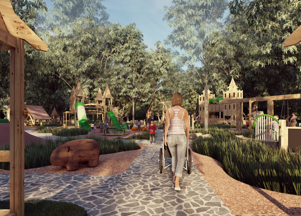 Artist's impression of new playground #2