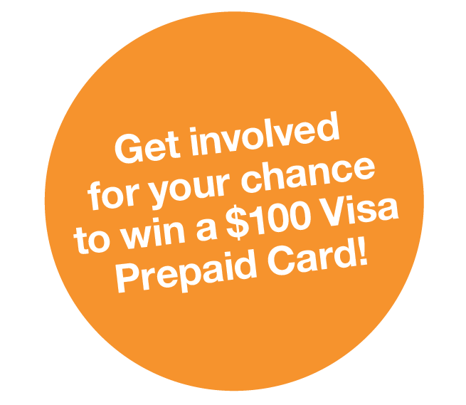 Win a $100 Visa Prepaid Card!