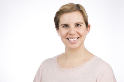 A photograph of Julia Weyhe