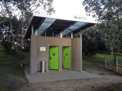 Basterfield Toilet front view