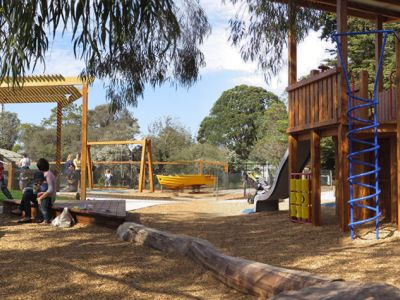 Recent improvements to Beaumaris Reserve Playground