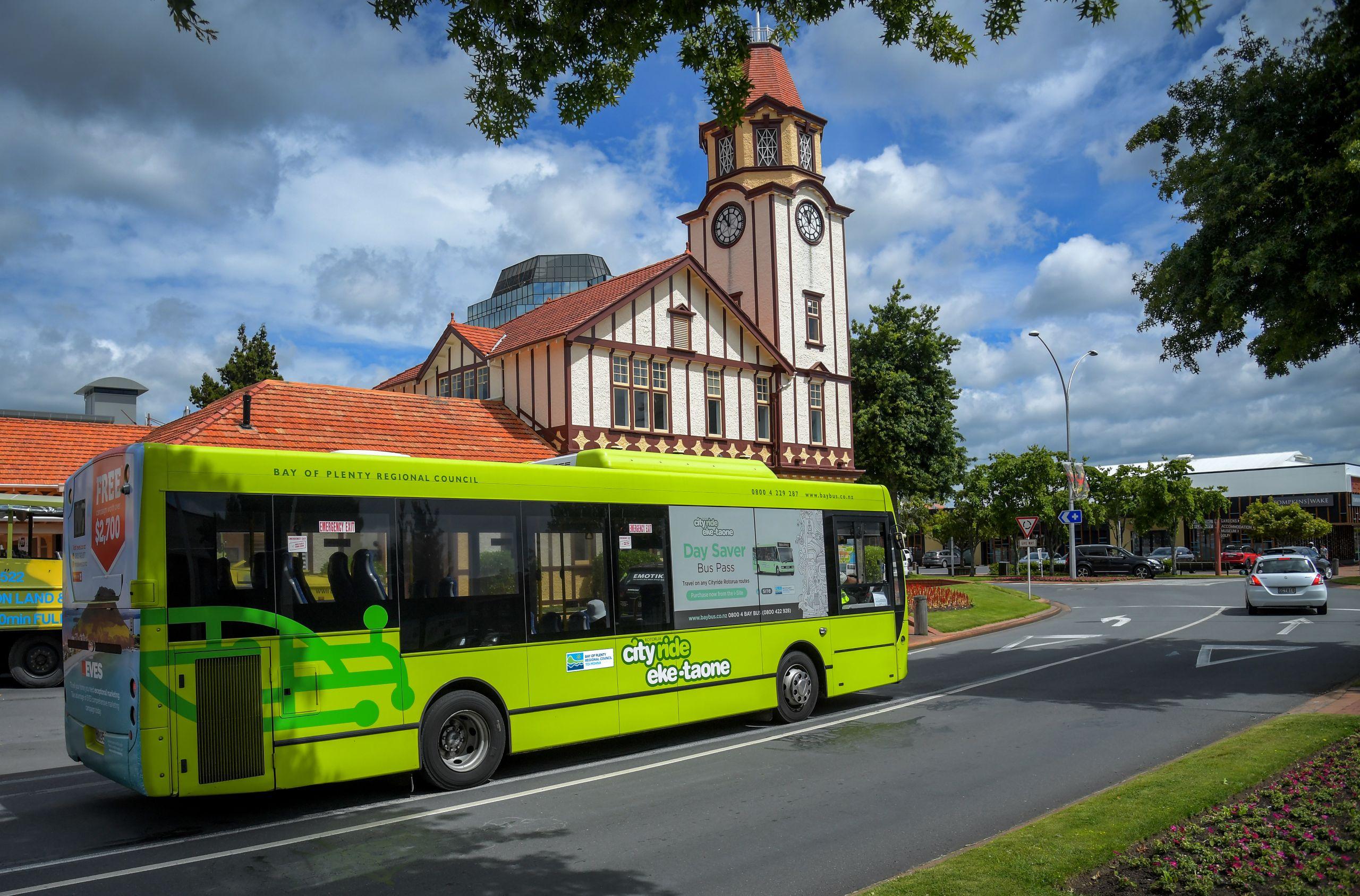 Rotorua bus