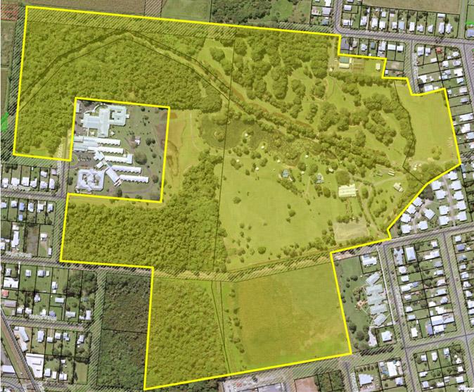Warrina Lakes Strategic Master Plan Study Area