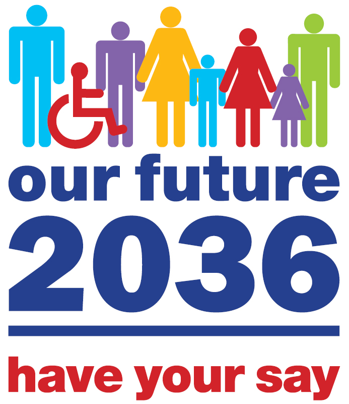 Our Future 2036 logo