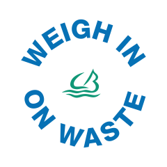 Weigh in on Waste logo