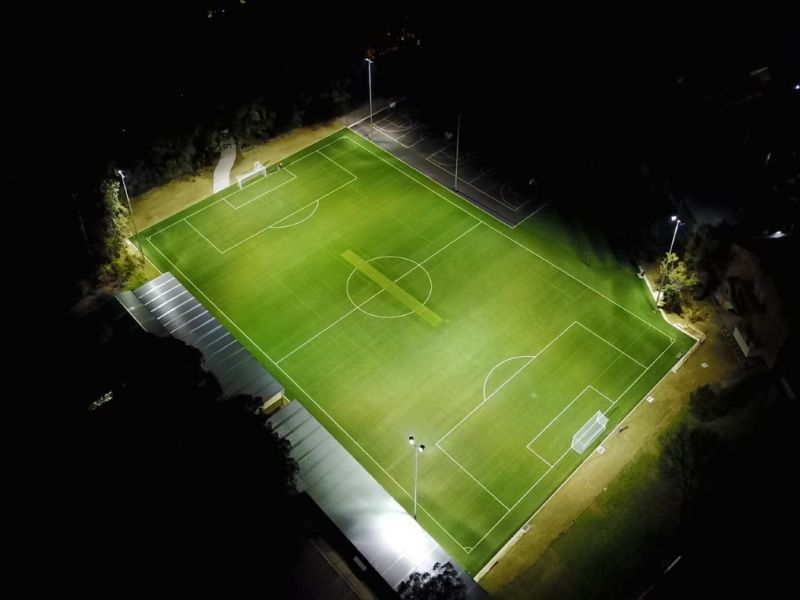 Example synthetic field at night