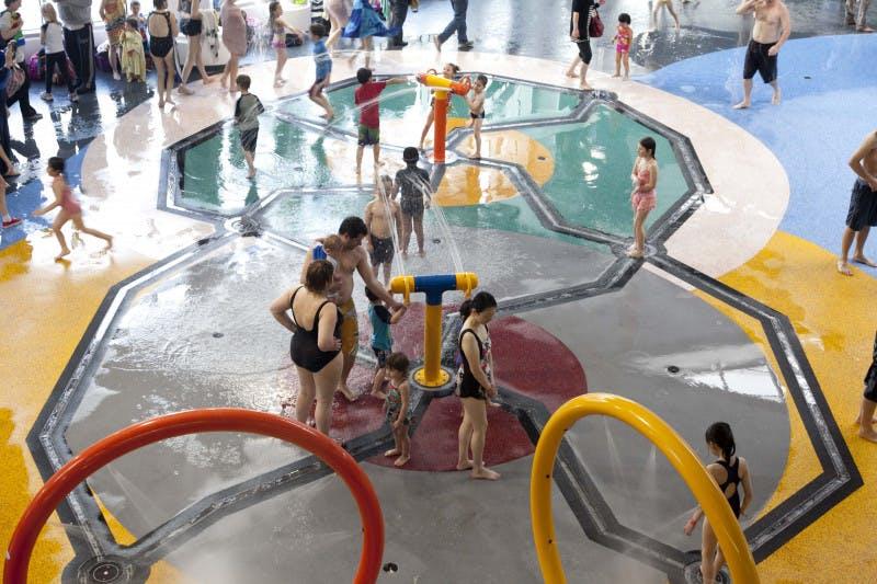 Roselands: indoor splash pad inspiration