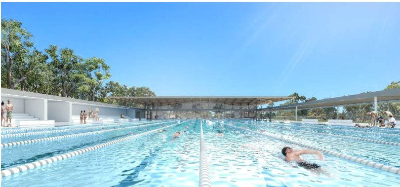 Canterbury: outdoor 50m pool inspiration