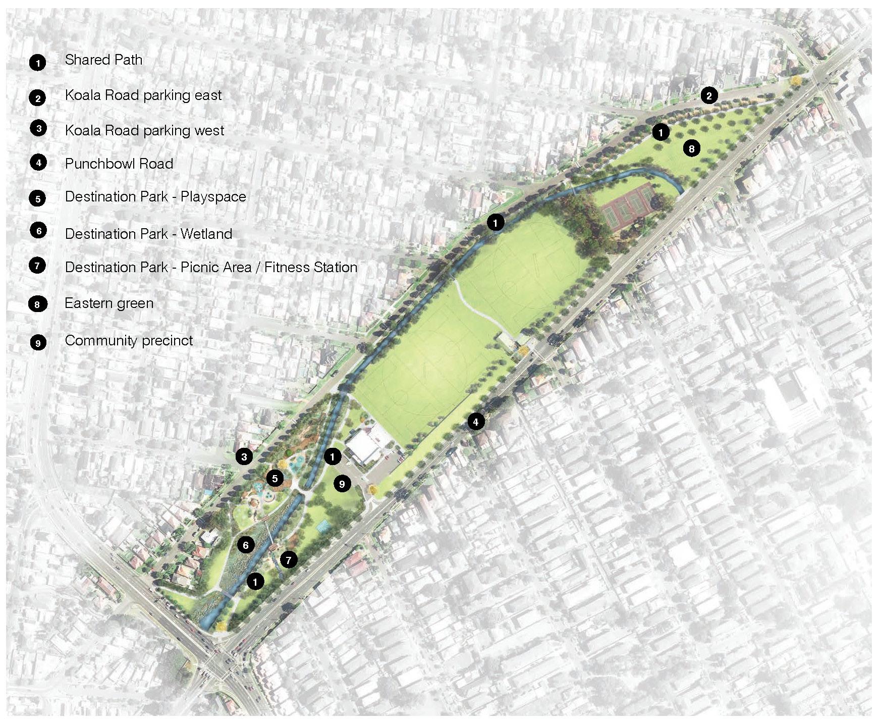 Parry Park Masterplan