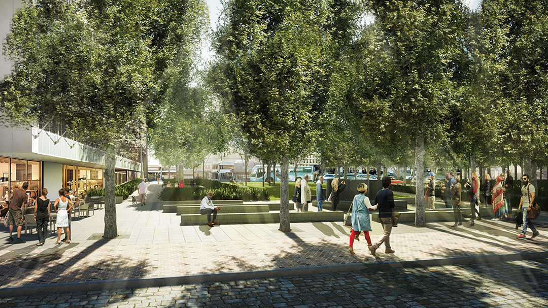 Courthouse Reserve redesign