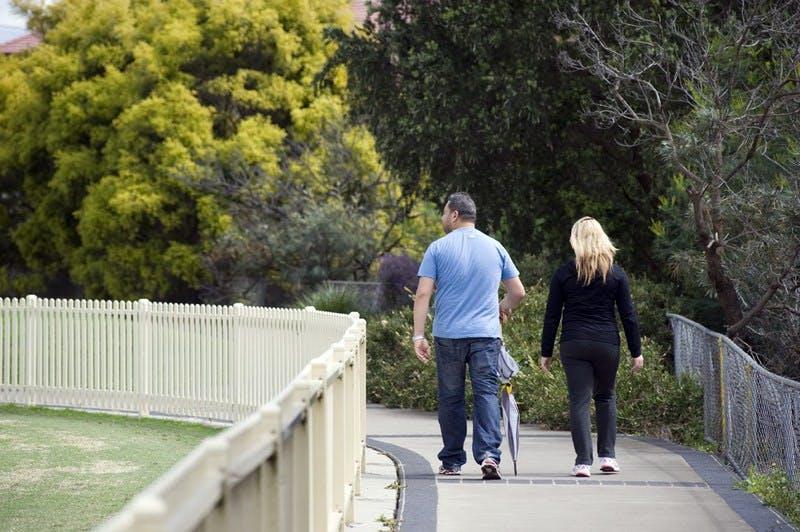 Pathway at Memorial Oval Bankstown