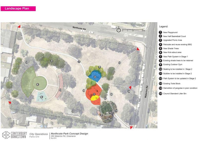 Northcote Park Concept Plan