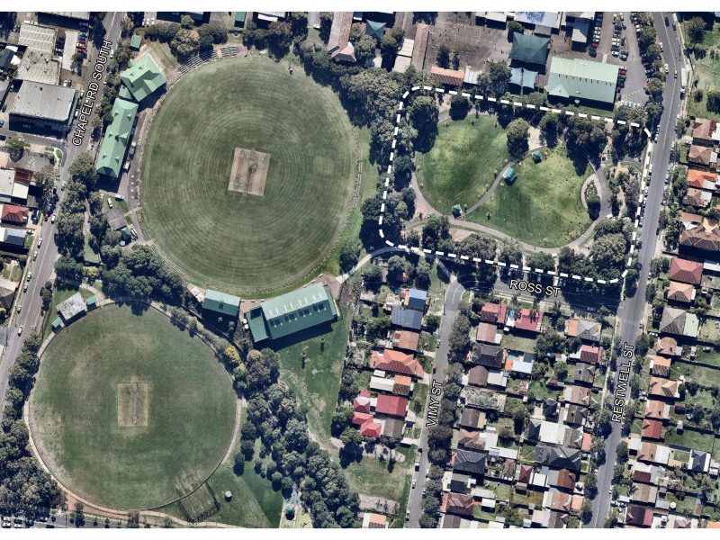 Bankstown City Gardens Livvis Place Site Aerial
