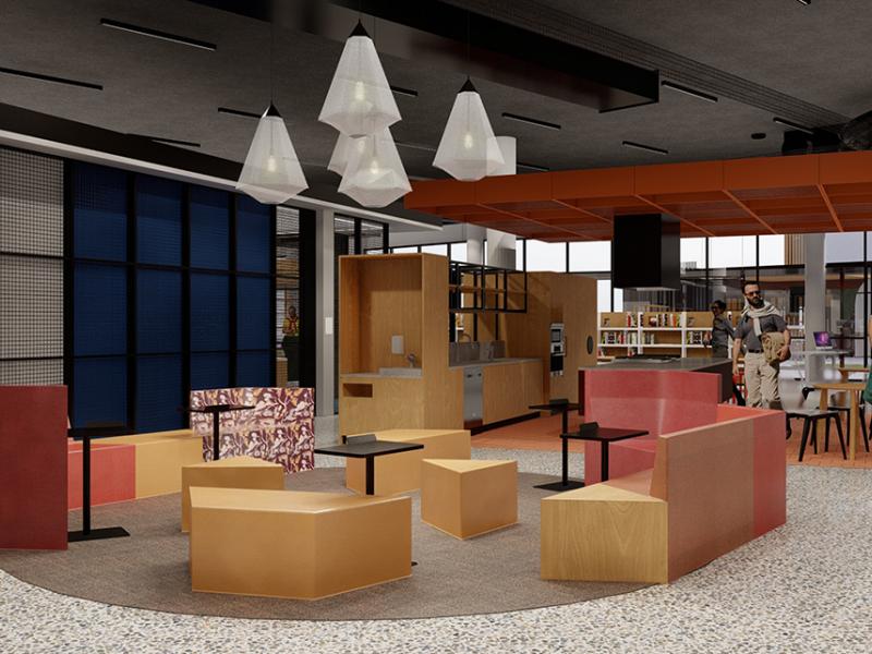 West Lakes Facility - casual lounge area