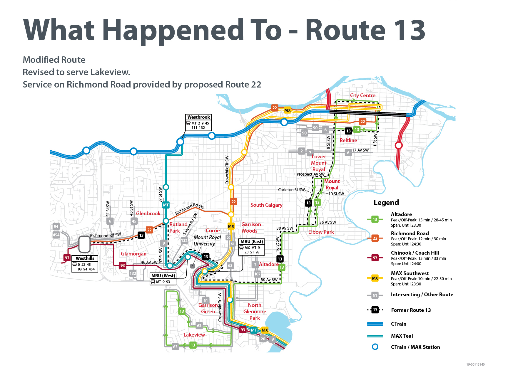 ​What Happened to Route 13