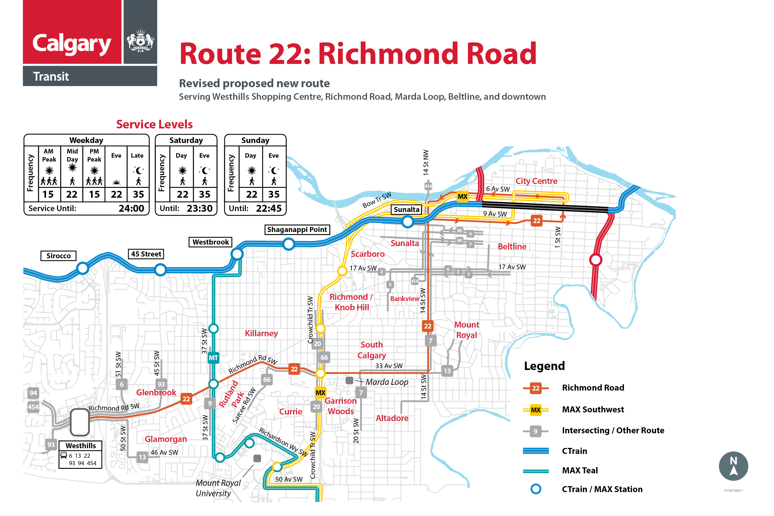 Revised Route 22