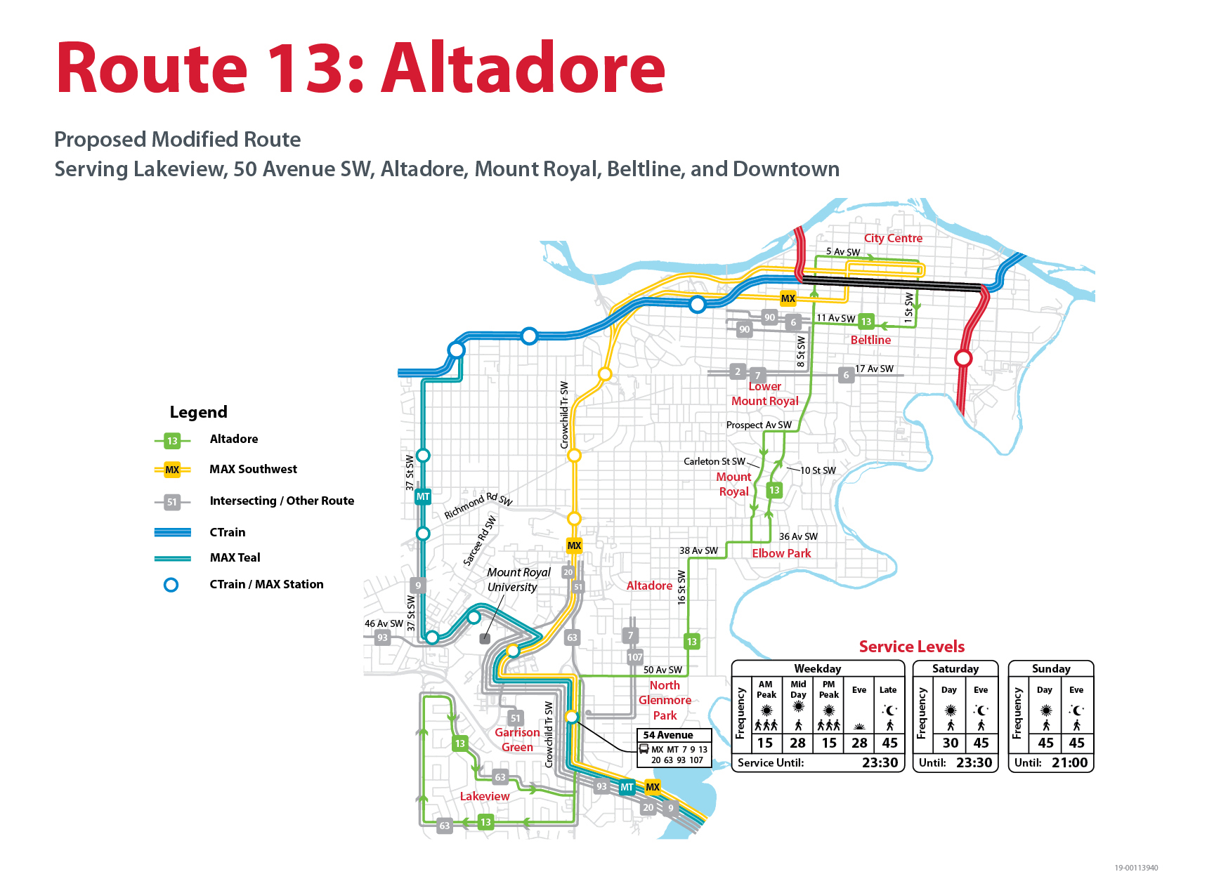 Proposed Changes to Route 13