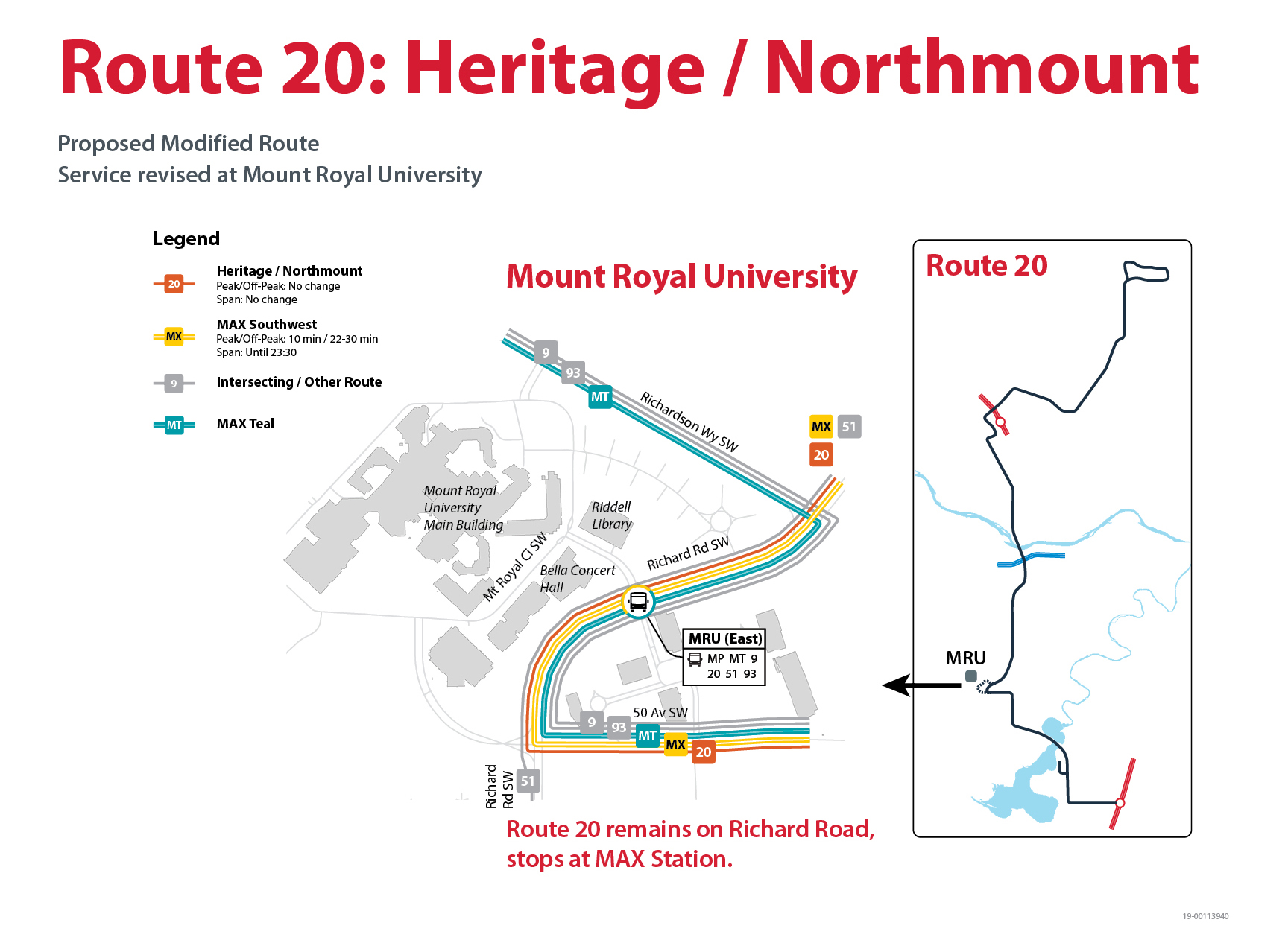 Proposed Changes to Route 20