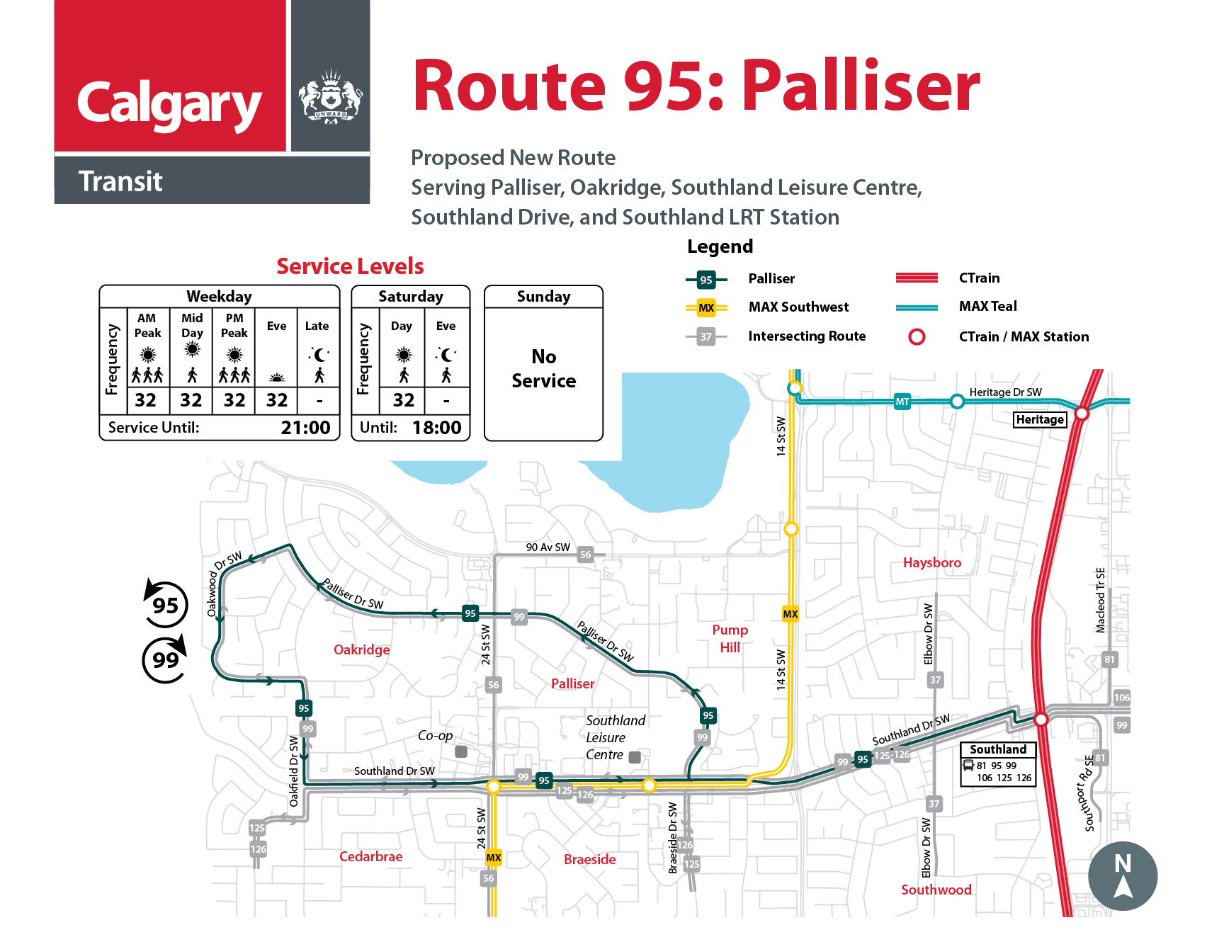 Proposed Changes to Route 95